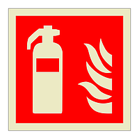 Fire Extinguisher symbol (Offshore Wind Sign)