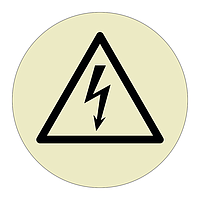 Electrical Hazard Sheet of 12 (Offshore Wind Sign)