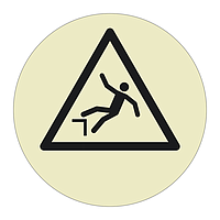 Drop Hazard Sheet of 12 (Offshore Wind Sign)