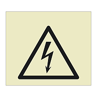 Electrical Hazard symbol (Offshore Wind Sign)