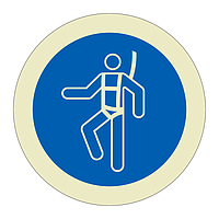 Safety Harness must be Worn Sheet of 12 (Offshore Wind Sign)