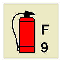 9L Foam Fire Extinguisher (Marine Sign)