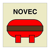 Novec Fixed Fire Extinguishing Installation (Marine Sign)
