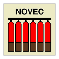 Novec Fixed Fire Extinguishing Battery (Marine Sign)