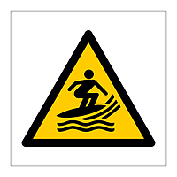 Surf Craft Area symbol sign