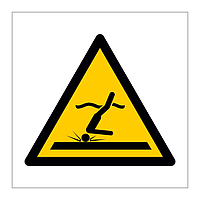 Shallow Water Diving symbol sign