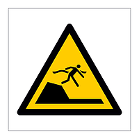 Sudden Drop in Swimming or Leisure Pools symbol sign