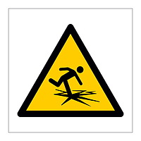 Thin Ice symbol sign