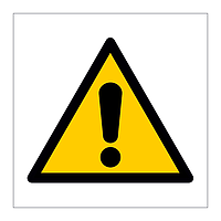 General Warning symbol sign