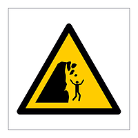 Unstable Cliff symbol sign