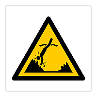 Submerged Objects symbol sign