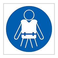 Wear Personal Floation Devices symbol sign