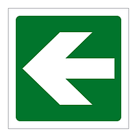 Directional Arrow Left sign
