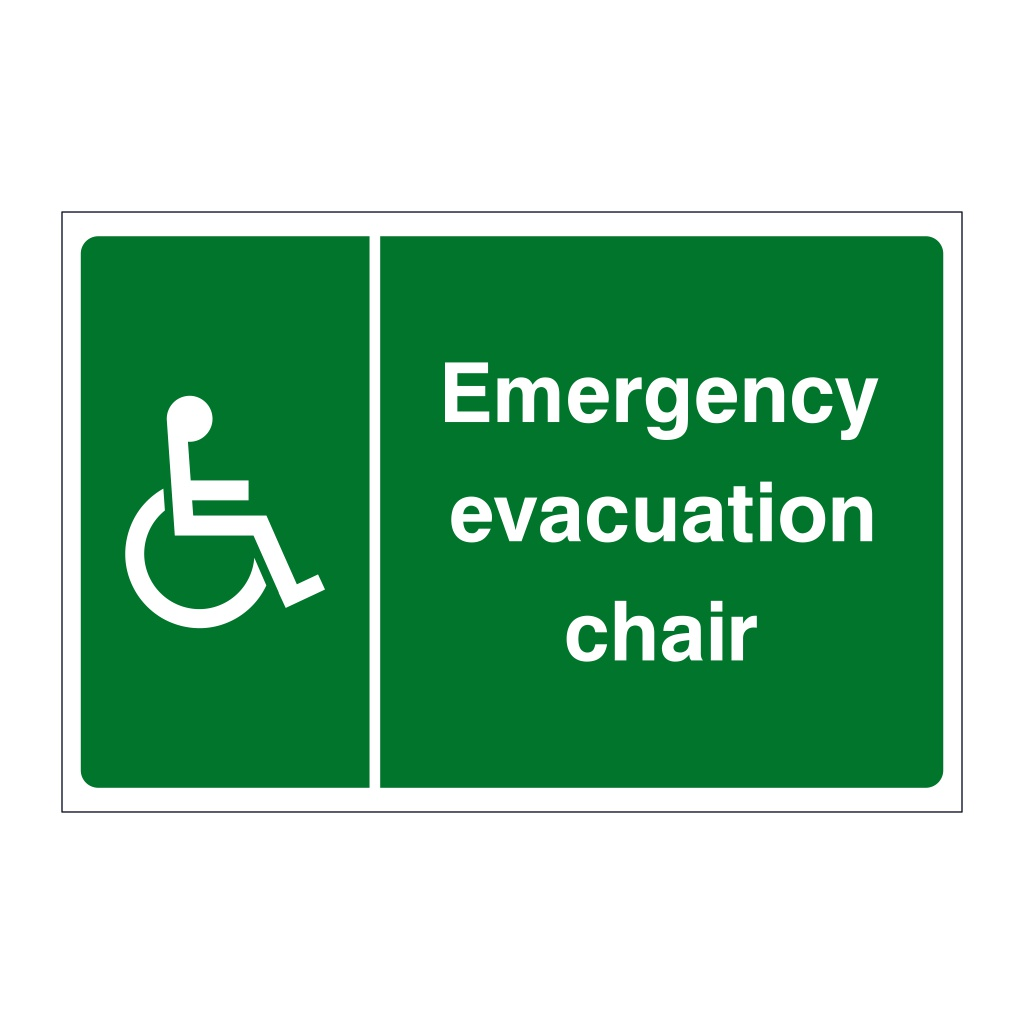 Your Fire Assembly point is emergency evacuation Safety sign 1.2mm Rigid plastic 200mm x 150mm
