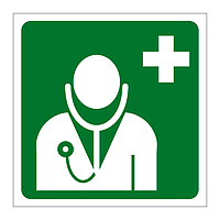 First Aid Doctor sign