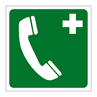 Emergency Telephone symbol sign