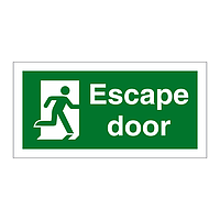 Escape Door Running Man Right sign