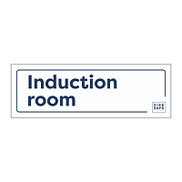 Site Safe - Induction Room sign