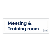 Site Safe - Meeting & Training Room sign