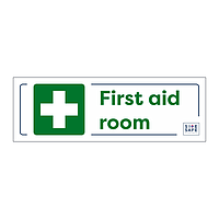 Site Safe - First Aid Room sign
