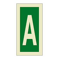 Letter A (Marine Sign)