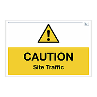 Site Safe - Caution Site Traffic sign