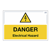 Site Safe - Danger Electrical Hazard sign