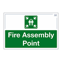 Site Safe - Fire Assembly Point sign