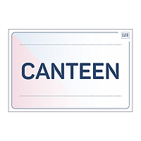 Site Safe - Canteen sign