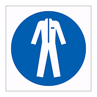 Protective clothing symbol sign