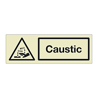 Caustic (Marine Sign)