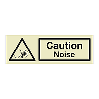 Caution Noise (Marine Sign)