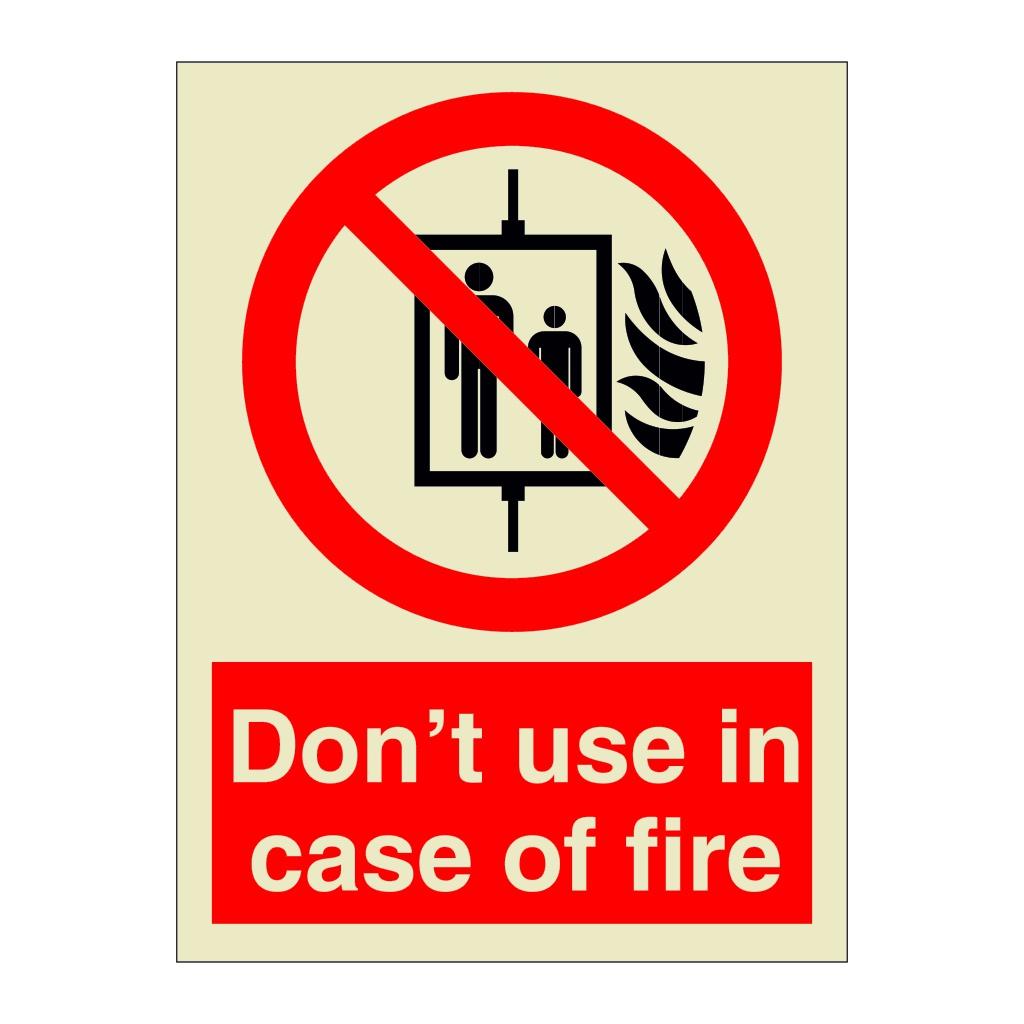 Do Not Use Fire Extinguishers As Door Stops Sign 150mm x 200mm Rigid Plastic